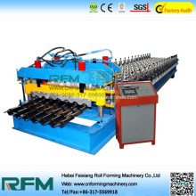 Glazed tile panel roll forming machine