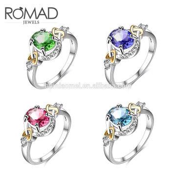 последний золотой палец кольцо конструкции Гуанчжоу моды 14k золото ювелирные изделия роскошные женщины кольцо для девочек