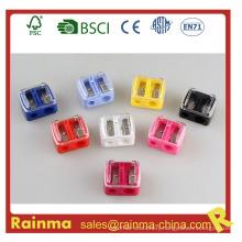 Color Double Safety Mini Kids Pencil Sharpener