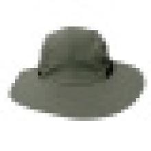Chapéu de balde com cordão de desenho e alternar (BT085)