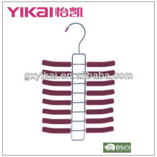 metal coat hanger stand with 16 rakcs for tie
