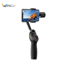 High Quality for China Three-Axis Smartphone Stabilizer,3 Axis Handheld Gimbal For Smartphone,Smartphone Gimbal For Cell Phone Factory Black 3 axis electronic stabilizing gimbal supply to Saint Kitts and Nevis Suppliers