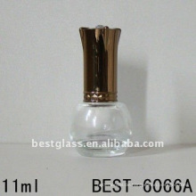 leere Glas Nagellack Flasche