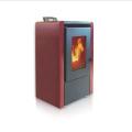 ZLKM06 Bio fuel modern European pellet stove stufa pellet for home heating