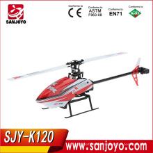 XK K120 Shuttle 3D6G System RTF 2.4GHz 6CH Brushless Motor RC Helicopter SJY-K120