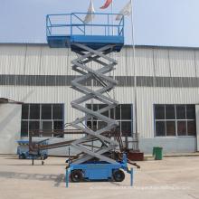 Cargaison de 500kg chargeant la plate-forme bon marché d'ascenseur de ciseaux pour la vente chaude