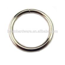 Moda de alta qualidade Metal Hardware Round Ring