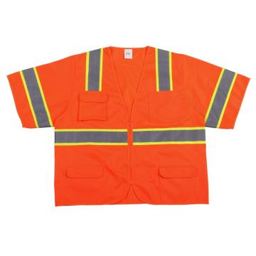 Мода Привет-vis безопасности T-рубашка с отражающей лентой