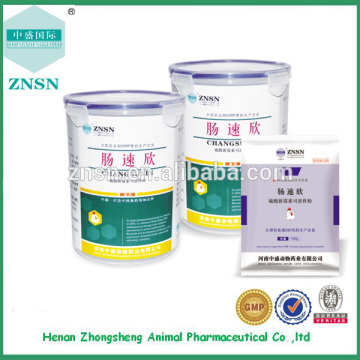 chicken herbal medicines for the treatment of severe diarrhea