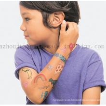 Benutzerdefinierte Wasser Proof Nette Kinder Kinder Tattoo Aufkleber