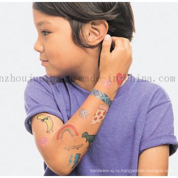 Изготовленная На Заказ Вода-Доказательство Милый Дети Дети Татуировки Наклейки