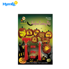 Nouveau design 5pcs Halloween Kit de sculpture de surface de citrouille