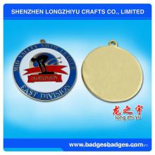 Medalla de reunión de natación de alta calidad