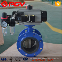 epdm pn 16 flange butterfly valves with pneumatic actuator