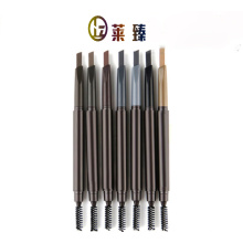 Lápis de sobrancelha multicolor impermeável e suave