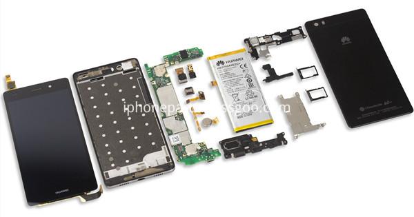 Huawei P8 screen