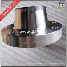 Venta caliente forjó el reborde del cuello de la soldadura del acero inoxidable (YZF-E382)