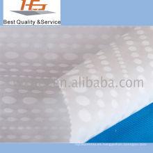 Poliéster blanco de alta calidad de la tela del Dobby para la materia textil casera