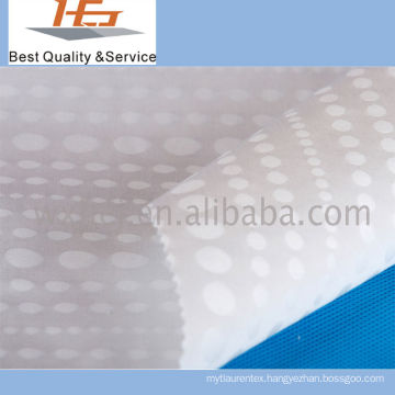 High Quality White Dobby Fabric Polyester For Home Textile