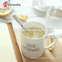 Custom design personalizado porcelana canecas / caneca de cerâmica de grés