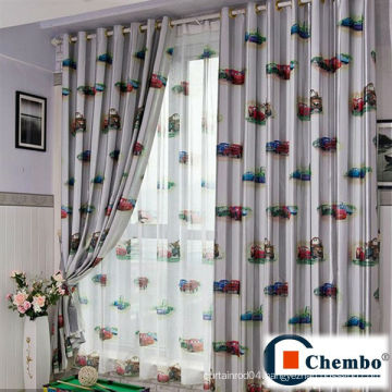cute lovely cartoon kids curtains