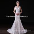 2017 Последняя мода вышитые свадебное платье сексуальная Русалка кружева вечернее платье