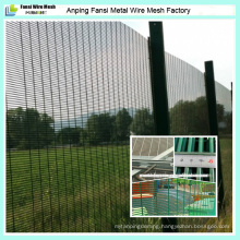 Prison Barbed Wire Anti-Climb Long Life Protection 358 Mesh Fencing