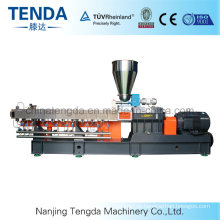 China Tengda Home Made Twin Screw Plastic Sheet Extrusion Machine