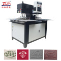 Mesin Fabric Embossing Double Workstation