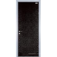 Меламин деревянная дверь (ЖЛ-Е100)