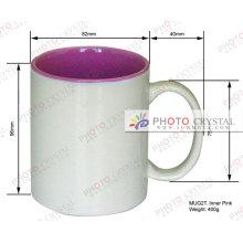 Color dentro de la sublimación tazas de café