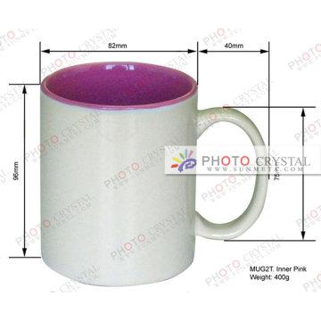 color inside sublimation mugs