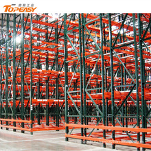 Высота регулируемая сверхмощная стальная система вешалки Паллета хранения