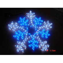 Motif Light 5meter snow flake made by led light