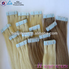 2016 New looking Wholesale Price High Grade Tape Hair Extension