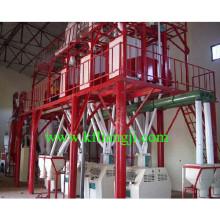 Venta caliente 50 toneladas / máquina del molino de la harina del trigo del día / máquina del molino de la harina del maíz