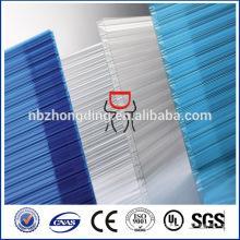 УФ оцинкованный покрытие поликарбонат sunlite,первоклассное лист ПК фпр парника,лист первоклассное устройство