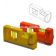 Zwei Blasen-Tasche Kunststoff-Box Wasserwaage