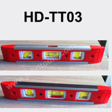 HD-TT03 mini nivel de alcohol plástico, imán