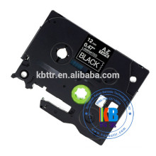 12mm black on white tz-231 compatible feature brother label tape