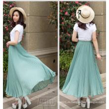 Популярные высокого качества дамы моды плиссированные юбки Оптовая