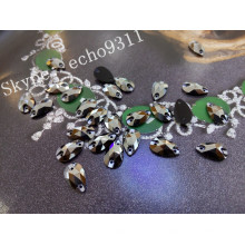 Кристалл шить на камни в форме капли 2015 7*12мм (ДЗ-3065)
