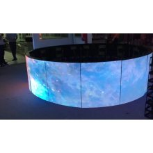 Flexible LED module curved screen Indoor Advertising Board