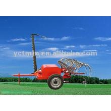 Rastrillo / cortacésped del tractor del mejor precio con el rastrillo