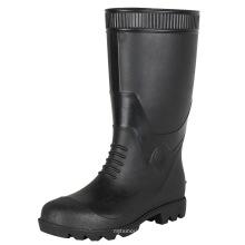 mens pvc knee high waterproof safety rain horse gumboots rain boot  men