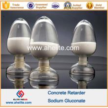 Retenue à l'additif béton retardé Gluconate de sodium 98%