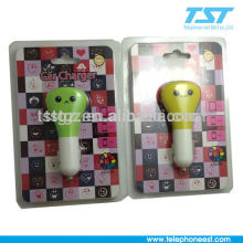 Chargeur de voiture portable Micro USB portable / Chargeur de téléphones intelligents / Chargeur 2USB