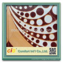 Plancher de linoléum de vinyle populaire de conception populaire