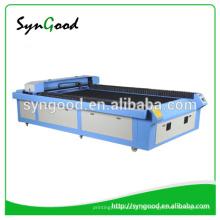 Laser Jeans Gravação Máquinas 1300 * 2500mm Syngood Co2 Laser 150W