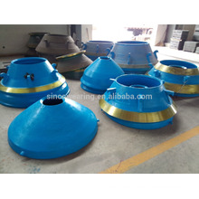 Mantle and Bowl liner-High Manganese Casting Steel spare parts for crusher